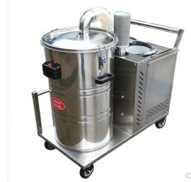 380V强力工业吸尘器打磨车间用吸颗粒焊渣铁屑吸尘器