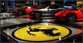 汽车销售展厅无缝环氧磨石地面