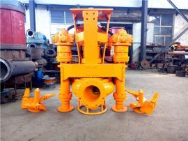 液压泥沙泵,自带搅拌耐磨挖机专用抽砂泵