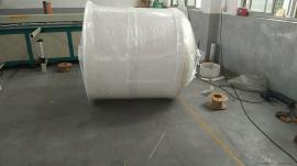 定做1T-10T塑料反��釜PP化工��拌釜耐腐�g��拌罐