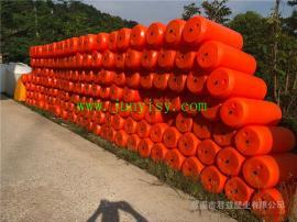 直径400长1米河道拦截垃圾塑料浮筒