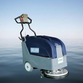 格瑞勒小型手推式洗地机物业车库商务楼走廊酒店客房用洗地机
