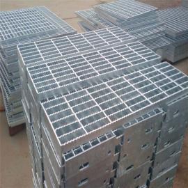热镀锌钢格栅板A建筑钢格板A钢梯踏步板A水沟盖板