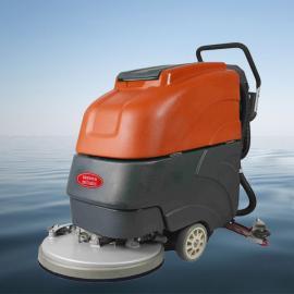 格瑞勒物业保洁用洗地机手推式全自动洗地机擦地机