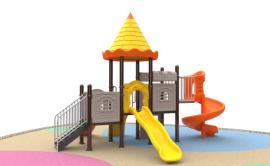 儿童游乐户外健身路径大型游乐滑滑梯小区儿童活动场所
