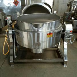 不锈钢可倾电加热夹层锅猪肉猪蹄多功能蒸煮夹层锅