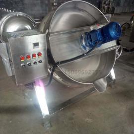 鸭蛋蒸煮锅高粘度物料蒸煮锅蒸汽式高压蒸煮锅