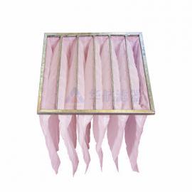 华航滤器生产布袋滤 粉色布袋过滤器 非标定制布袋除尘器