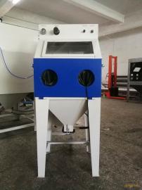 百顺喷砂设备6050箱式小型手动喷砂机