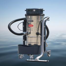 三马达强力工业吸尘器3600W吸木屑颗粒焊渣铁屑用大型吸尘器