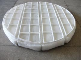 PP聚丙烯丝网除沫器PP丝网除沫器环保设备除雾器