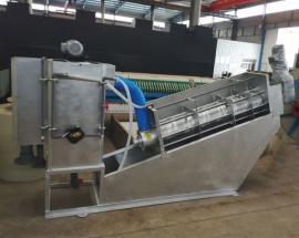 双联叠螺式污泥脱水机技术分析 304不锈钢材质