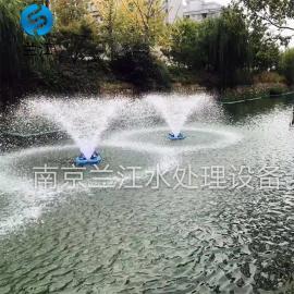 TQB提水式河道喷泉曝气机