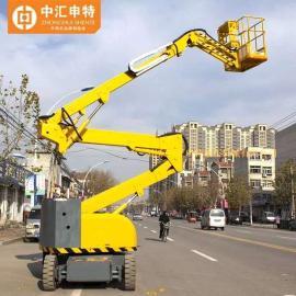 中汇申特自行曲臂式升降平台高空作业车