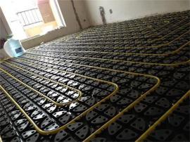 3公分地暖模块安装—暖捷电地暖施工