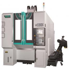 友嘉五�S立式加工中心�C U-800银鹿机械