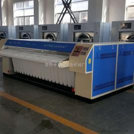 酒店洗涤机械 3米高速蒸汽多辊自动烫平机 折叠机