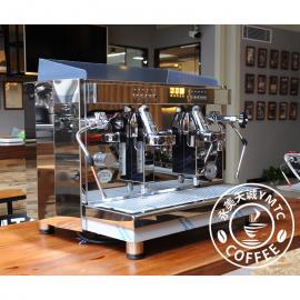德国ECM Barista A2电控半自动双头商用营业意式咖啡机