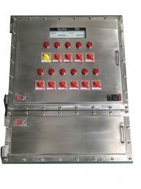 不锈钢材质焊接防爆配电箱