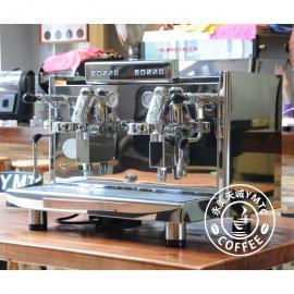 德国原装进口ECM Elektronika双头电控半自动商用意式咖啡机