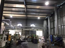 铸造业铝压铸脱模剂废气处理设备 铝熔炉烟尘处理设备