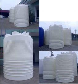 5吨混凝土外加�┐⒐� 5立方塑料水箱 5T工业防腐水塔