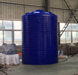 2吨圆底耐酸碱水箱 混泥土外加剂塑料储罐 供水储水pe水箱