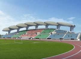 体育场张拉膜工程安装
