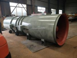 SDF系列带消音器超静音隧道风机|隧道掘进风机送风800米