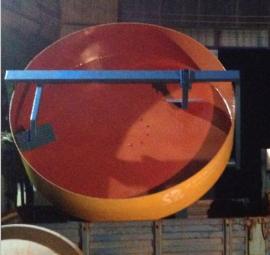 制造中正圆盘造粒机有机肥设备