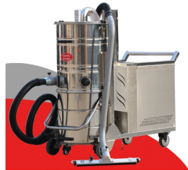 强力大型工业吸尘器 吸颗粒铁屑焊渣木屑用工业吸尘设备