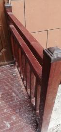 专业定制深灰色市政玻璃钢护栏