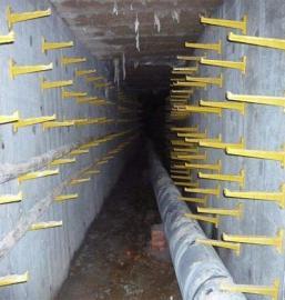 固定电缆玻璃钢支架直埋电缆支架预埋电缆支架