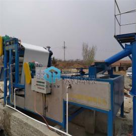 水衡环保制造洗沙废水处理设备 带式压滤机 污泥脱水设备 效率高