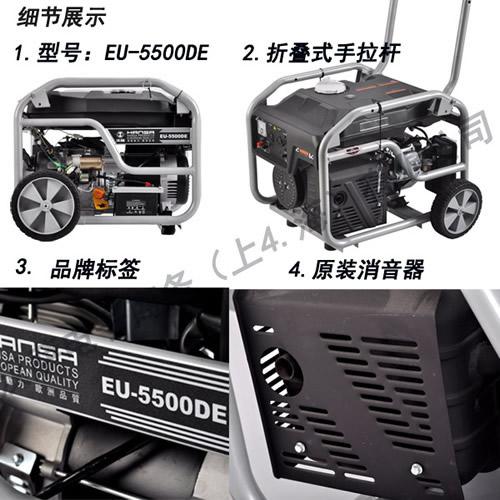EU-5500DE 电启动汽油发电机