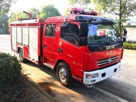 东风多利卡JDF5080GXFSG30/A型3.5吨水罐消防车