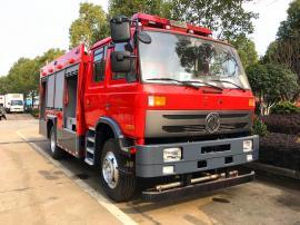 现车优惠销售JDF5140GXFSG50/E型东风5吨水罐消防车