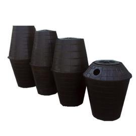改造厕所化粪桶 双瓮化粪池 化粪篓 加厚环保塑料