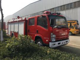 JDF5100GXFPM30/Q型五十铃5吨泡沫消防车