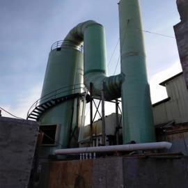 玻璃钢脱硫塔大型碳钢脱硫塔PP酸雾脱硫塔规格齐全效率高