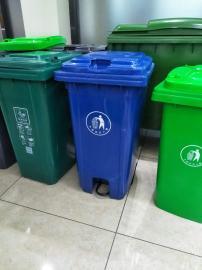 易顺240L垃圾桶 240L挂车垃圾桶定做 脚踏垃圾桶生产定做