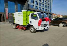 8吨洗扫车 除雪扫路车 干湿两用清扫车