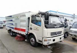 3方扫路车 5吨扫路车 干湿两用清扫车