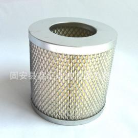 进气滤芯0532000003普旭真空泵滤芯适用RC 0100B