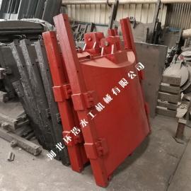 闸门配件 闸门调控 性能 0.9m×0.9M*0.9米铸铁闸门