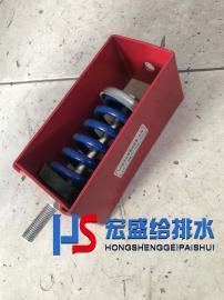 宏盛XHS型弹簧吊架吊式减震器