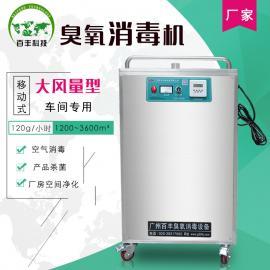 百丰BF-YD-120g农业大风量移动式臭氧消毒机