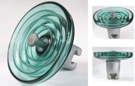 110kv玻璃盘式XWP-70线路悬式绝缘子