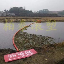 江浙沪河道拦生活垃圾拦水草水浮莲浮筒拦污漂