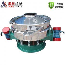 大产量面粉除杂振动筛 双电机直排筛 直卸式不锈钢旋振筛